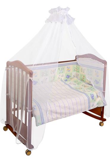 Постельное белье в кроватку Считалочка  3 предмета фото 1