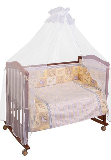 Постельное белье в кроватку Считалочка 3 пр фото