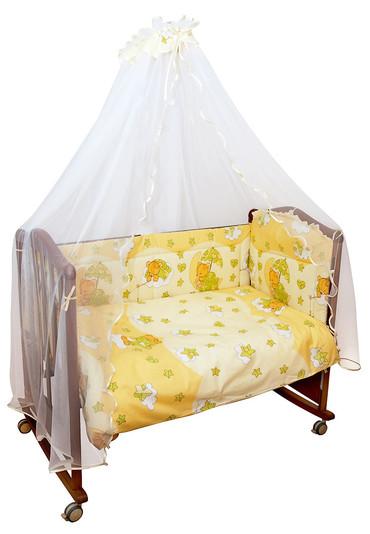 Бортики в детскую кроватку Мишкин Сон фото 1 бежевый