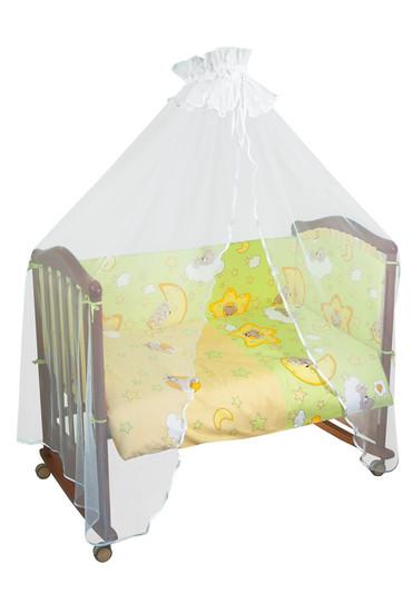 Бортики в детскую кроватку Сыроежкины Сны фото 1 Салатовый