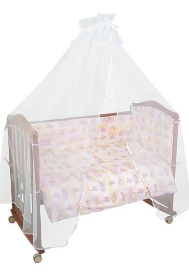 Бортик в кроватку Топтыжки фото 1 розовый