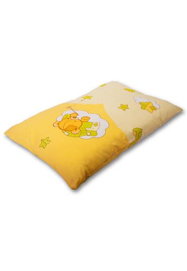 Детская подушка с наполнителем Бамбук цветная фото