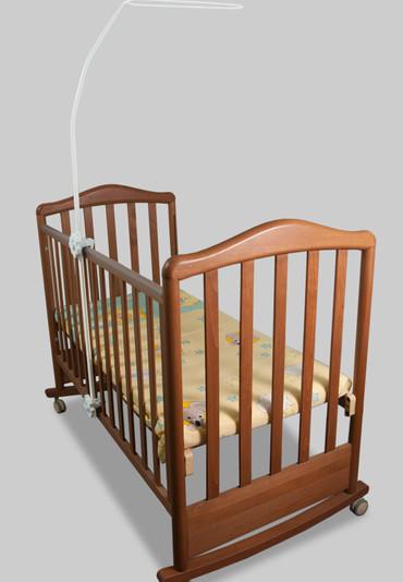 Держатель для балдахина на детскую кроватку Ромашка фото