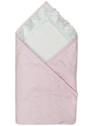 Конверт-одеяло для новорожденного на выписку Ласточка фото розовый