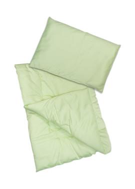 "Одеяло и подушка в кроватку ""Алоэ Вера"""
