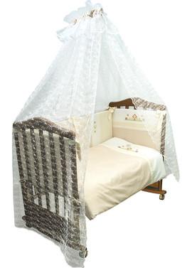 Комплект постельного белья в детскую кроватку Кантри 7 предметов фото