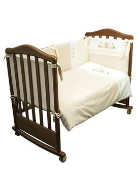 Комплект постельного белья в детскую кроватку Кантри 6 предметов фото