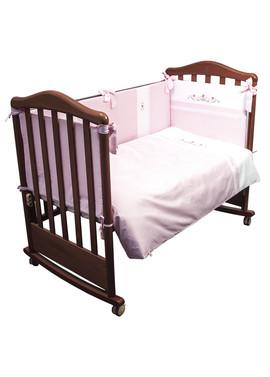 Постельное бельё в кроватку Прованс 3 предмета фото