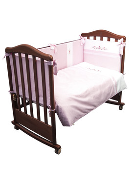 Постельное бельё в кроватку Прованс 6 предметов фото