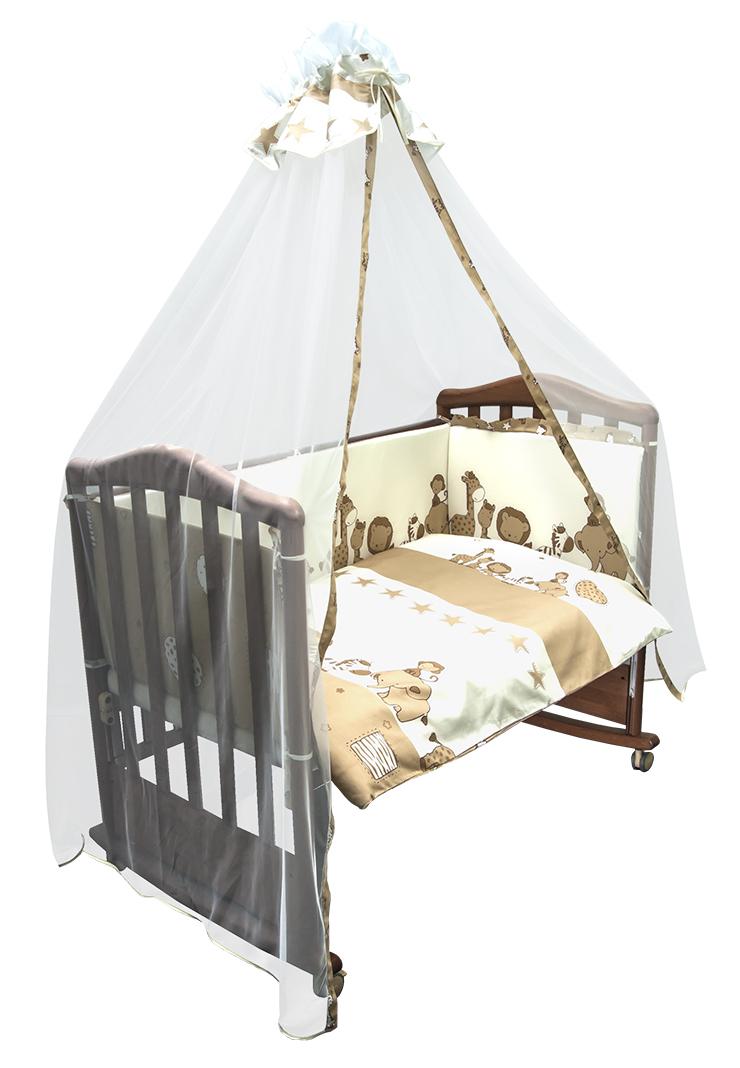 Постельное белье в кроватку Саванна 7 предметов фото