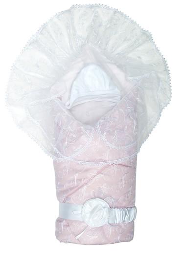 Конверт-одеяло Диамант розовый фото