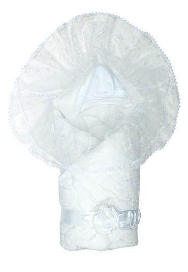 Конверт-одеяло Диамант белый фото
