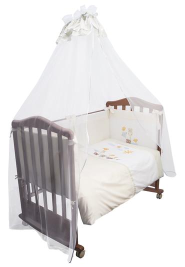 Постельное белье в кроватку Пикник 7 предметов фото 1