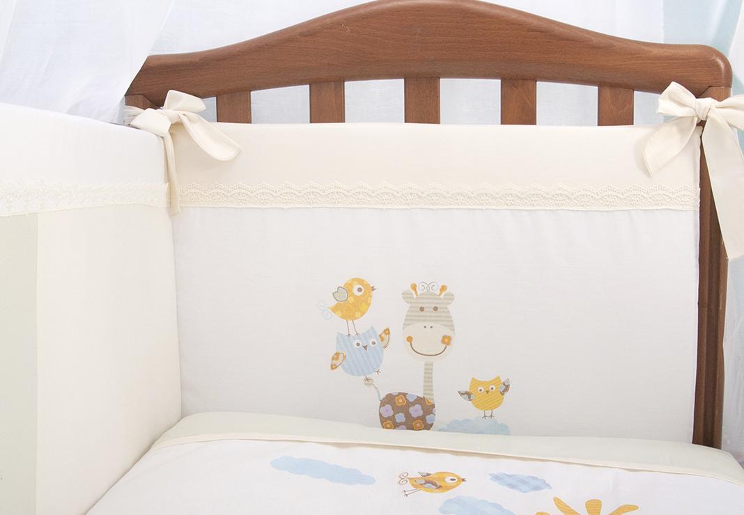 Постельное белье в кроватку Пикник 7 предметов фото 4