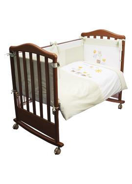 Постельное белье в кроватку Пикник салатовый фото 1
