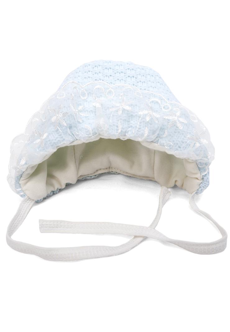 купить вязаную шапочку для новорожденного мальчика сонный гномик