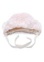 Вязаная шапочка для новорожденного фото розовый цвет