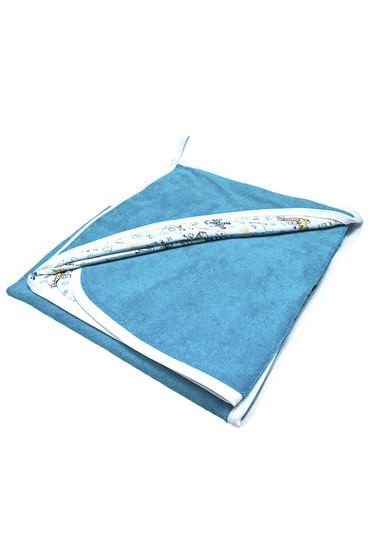 Махровая пеленка для купания