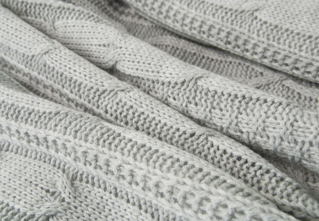 Конверт-одеяло на выписку Нежность фото серый