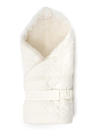 Конверт-одеяло с мехом на выписку Венеция фото