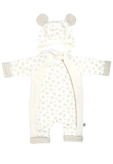 Комбинезон для малыша Мордашки 68 размер фото 1