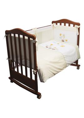 Детское постельное бельё в кроватку Пикник 3 предмета фото