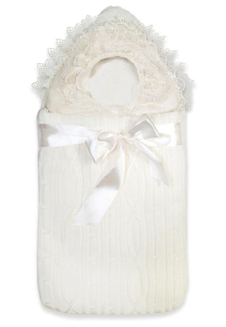 85ba37a4d7c6 Вязаный конверт на выписку для новорожденных Сказка - Сонный Гномик