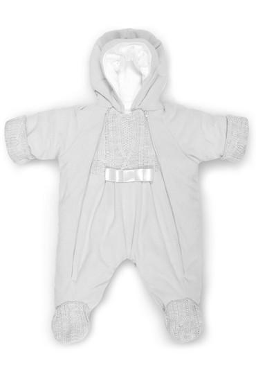 Комбинезон из флиса для новорожденных Ромашка фото