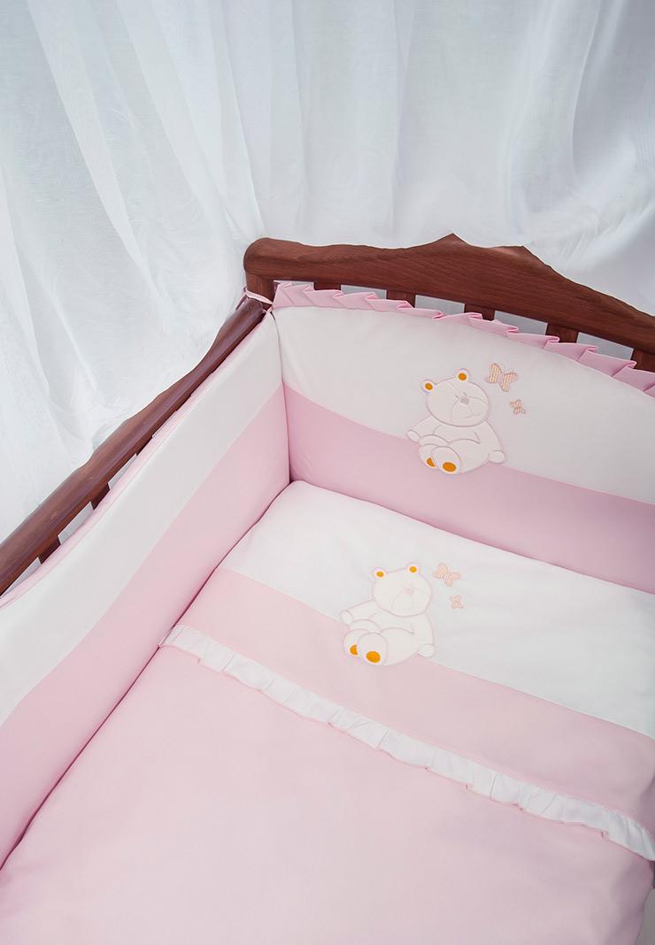 Комплект детского постельного белья Пушистик фото