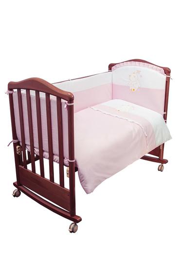 Комплект постельного белья для новорожденных фото