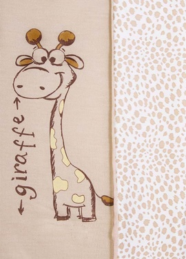Вязаный плед Жираф фото