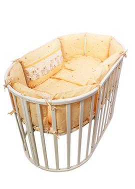 Комплект белья в круглую кроватку Оленята фото