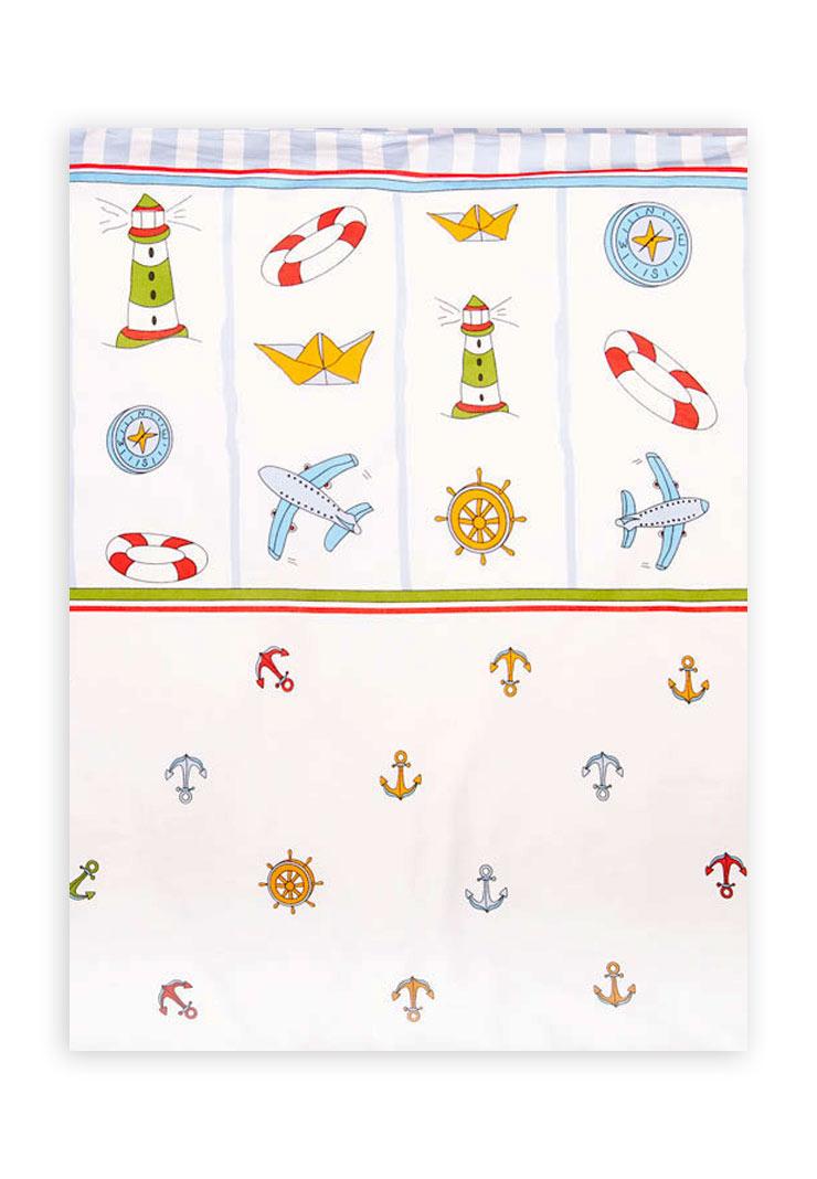 Пододеяльник для детского одеяла Маяк фото