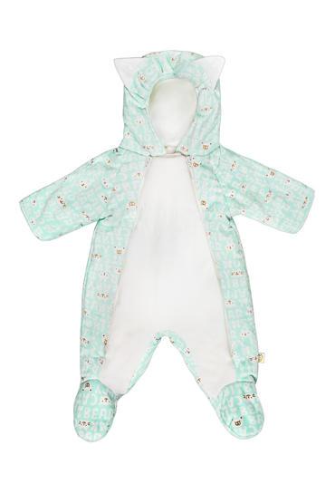 Утепленный комбинезон для новорожденного Мармеладик фото