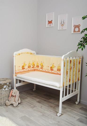 Бортик в кроватку Пчелки фото 1