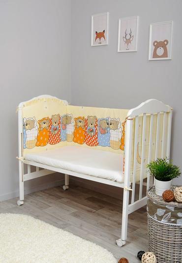 Бортики в детскую кроватку Лежебоки фото 1