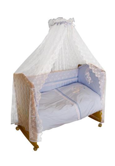 Постельное белье для новорождённых Лунный зай 7 предметов фото