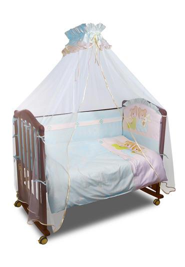 Постельное белье для младенца Пуговки 7 предметов фото