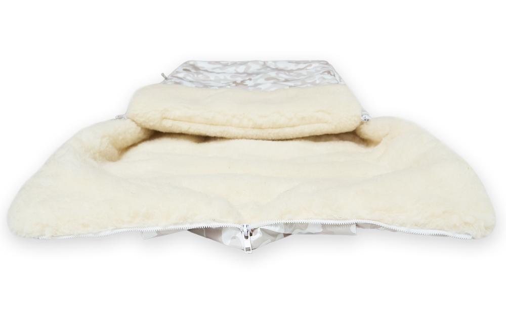 Зимний конверт Акита в коляску фото 1