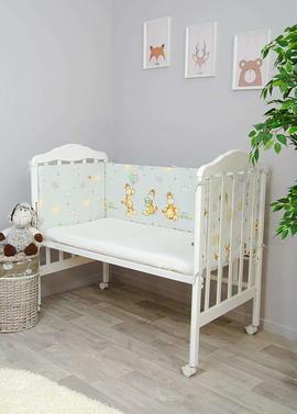 Бортики в кроватку малышу Жирафик фото