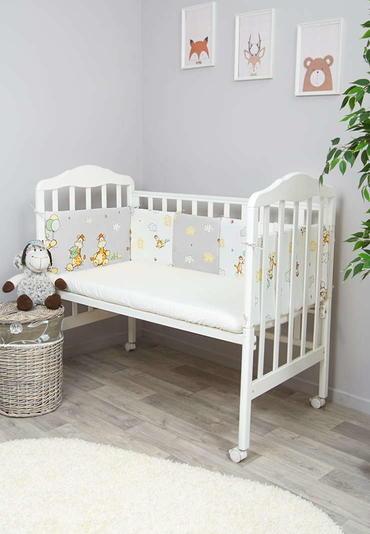 Бортики малышу в кроватку Жирафик фото