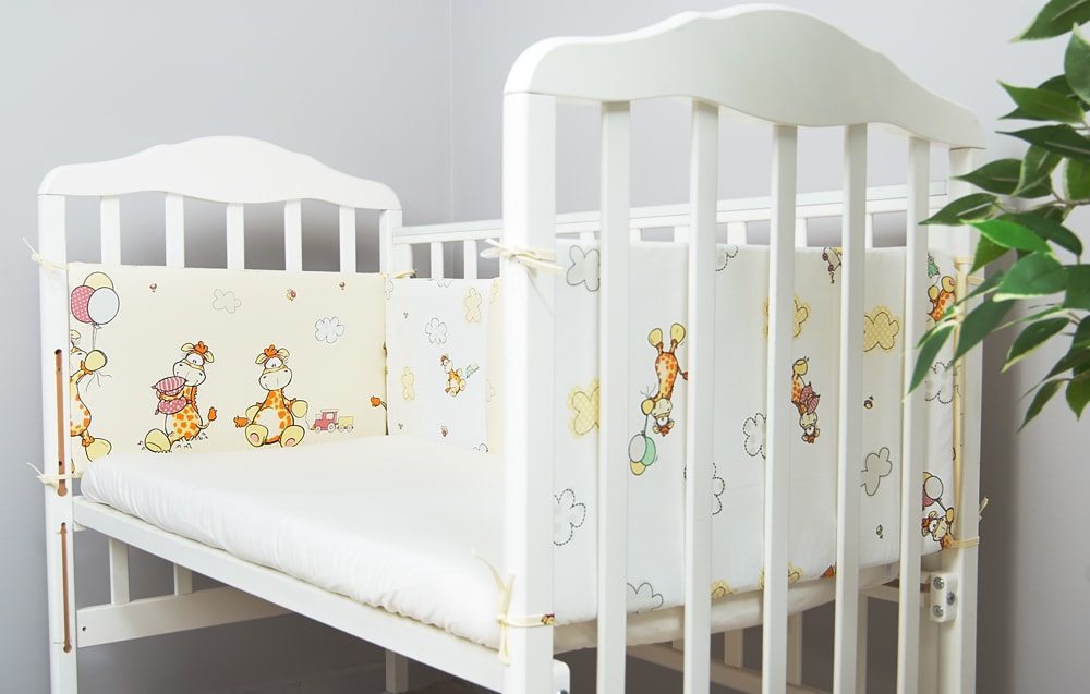 Бортики в кроватку ребенку Жирафик фото 1