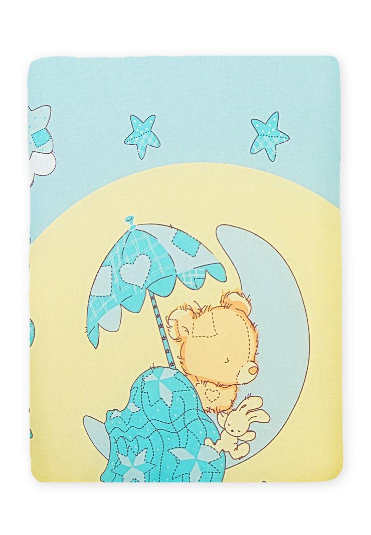 Одеяло стеганое Холлофайбер голубое фото 1