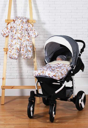 Зимний комплект для прогулок с новорожденным фото 1
