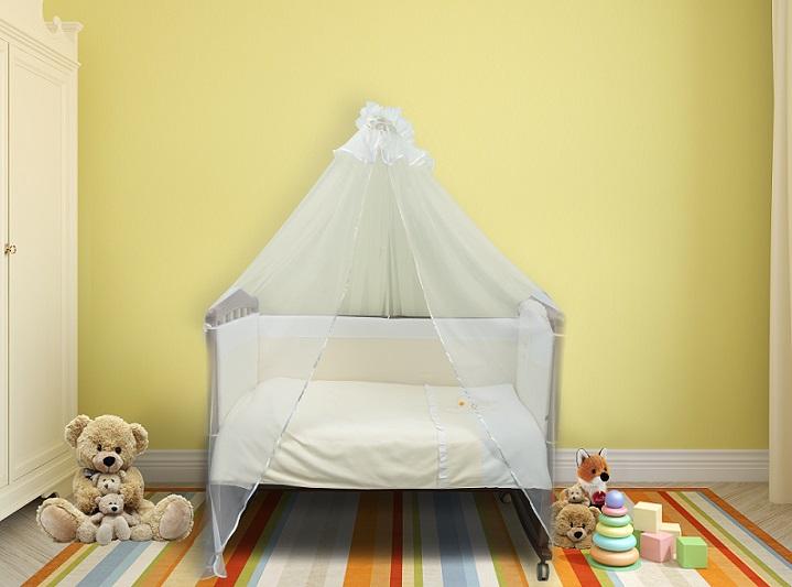 Бортик в кроватку Пушистик фото