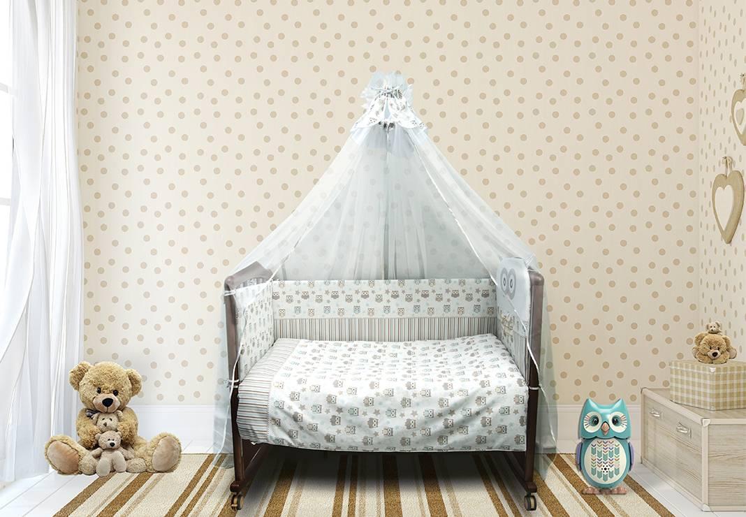 Комплект белья в детскую кроватку Софушки фото