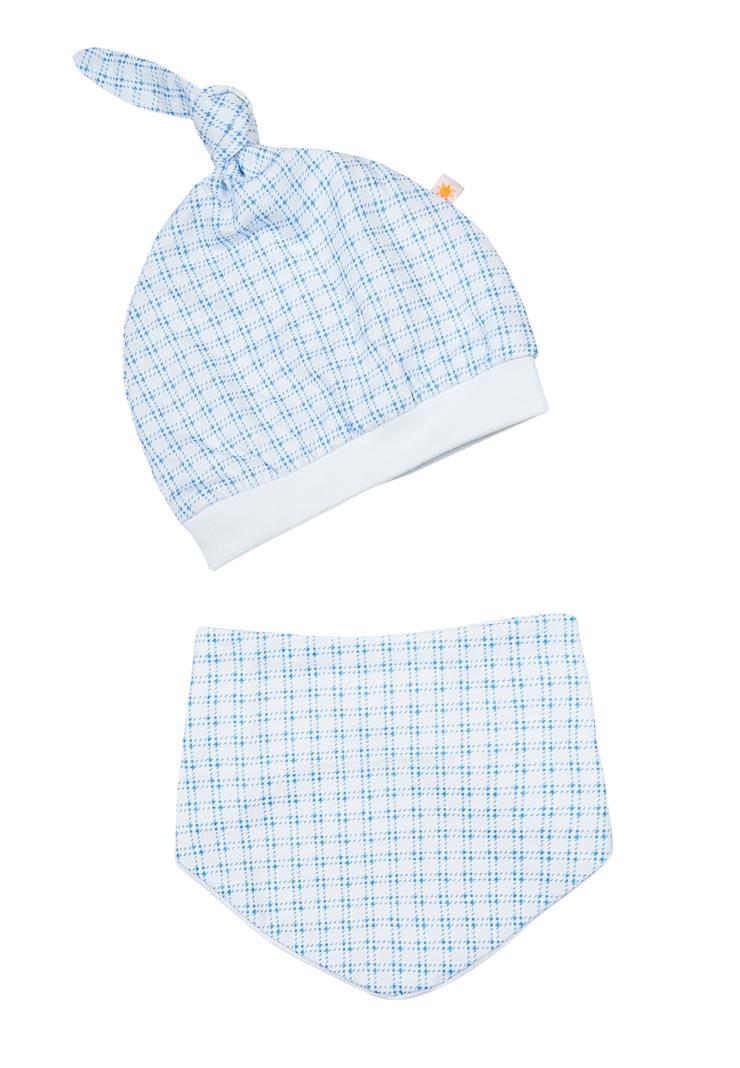 becc662a8cbf Комплект из шапочки и шарфика для новорожденного - Сонный Гномик
