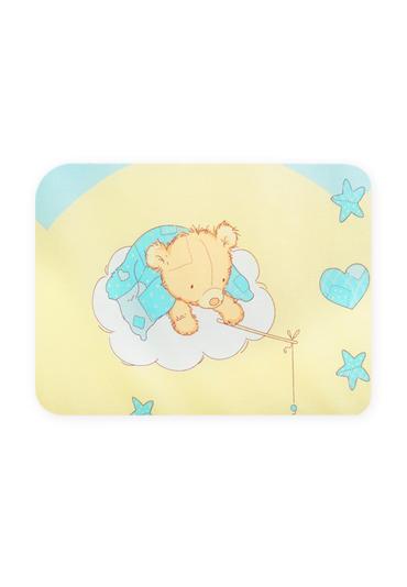 Подушка Мишкин сон голубой фото