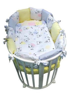 Постельное белье для новорожденных  Конфетти 7 предметов фото