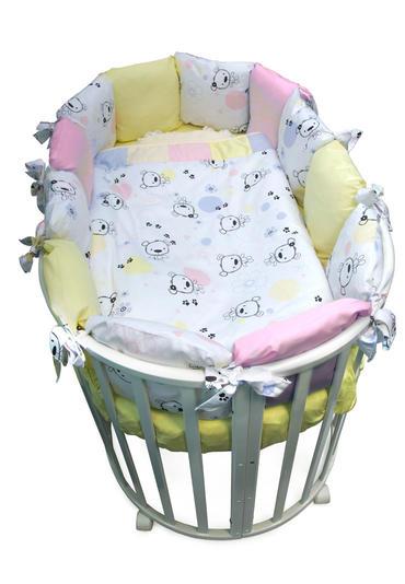 Постельное белье для малышей Конфетти 7 предметов фото